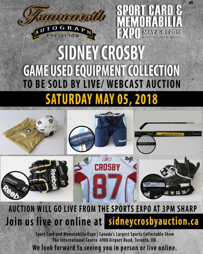 Sidney Crosby Auction